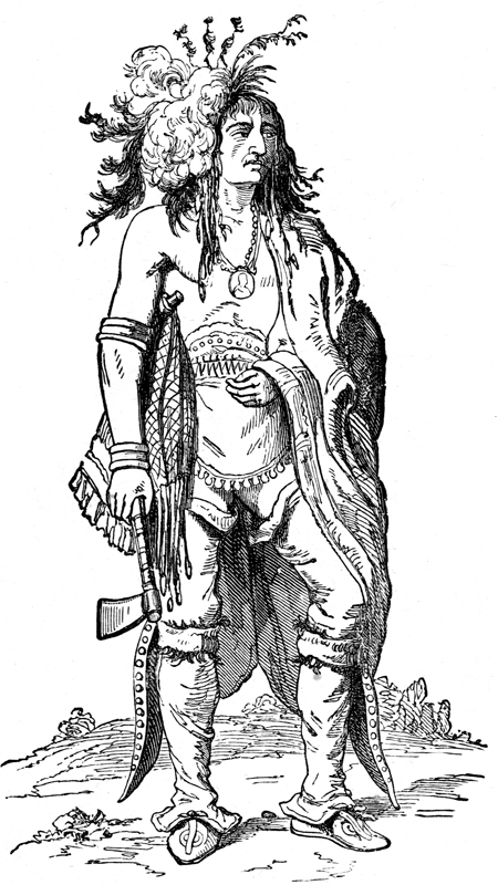 Indian Chiefs - Iroquiois Chief