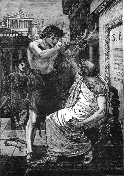brutus s speech vs antony s example Shakespeare's julius caesar with annotations antony uses all the tricks of a mob leader  contrast the opening words of the speeches made by brutus and antony to.