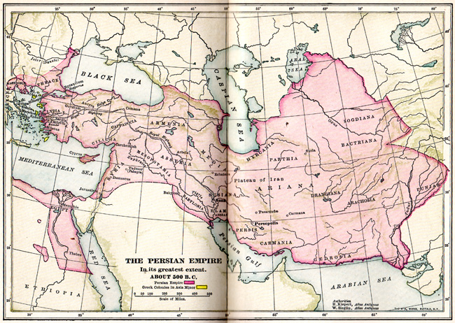 map of persia 1 Why Care about Persians and Arabs?