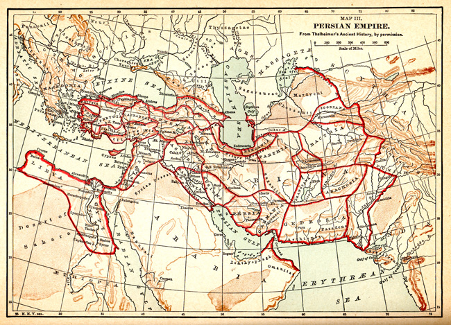 Map of Persia - Image 2