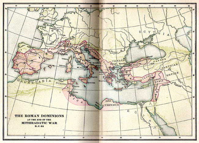 Map of the Roman Dominions