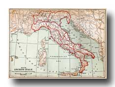Maps of Ancient Rome - Map of Ancient Italy