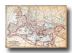 Maps of Ancient Rome - Map of Roman Empire