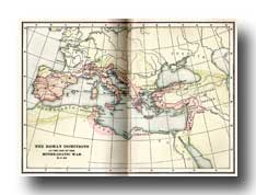 Maps of Ancient Rome - Map of the Roman Dominions