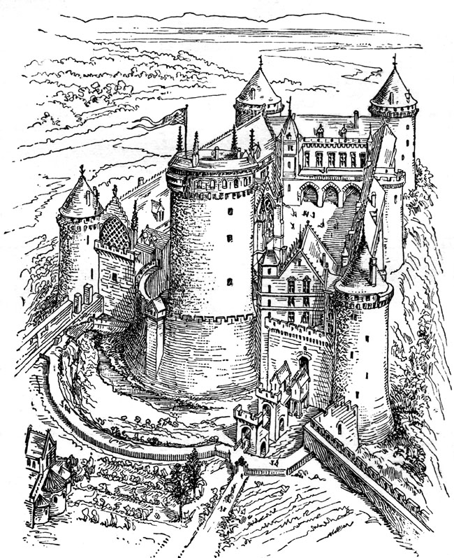 Middle Ages Castle