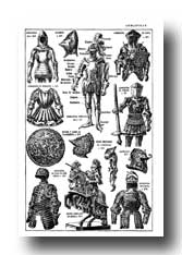 Medieval Clipart :: Armor of the Middle Ages