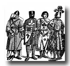 Medieval Clipart :: Knights in the Middle Ages