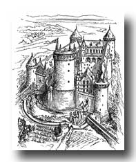 Medieval Clipart :: Middle Ages Castle