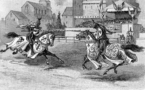 Medieval Knights Jousting - Image 1