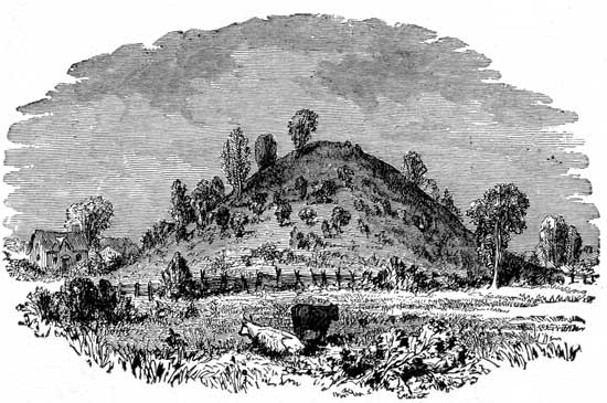 Mound Builders - Great Mound Near Miamisburg, Ohio
