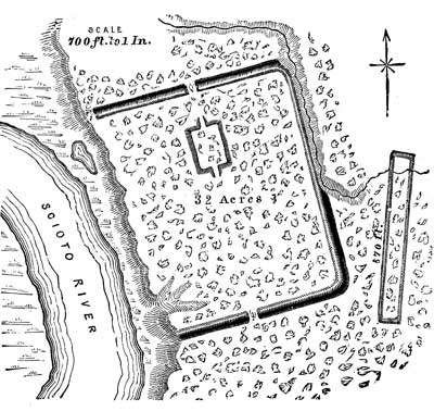 Mound Builders - Earthworks at Cedar Bank, Ohio