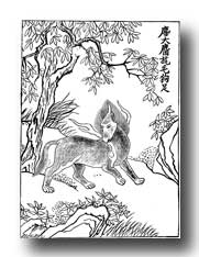 Mythical Animals - The Ki - Male Chinese Unicorn