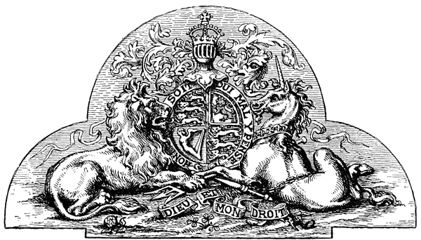 Mythical Beasts - Royal Arms of Her Majesty Queen Victoria