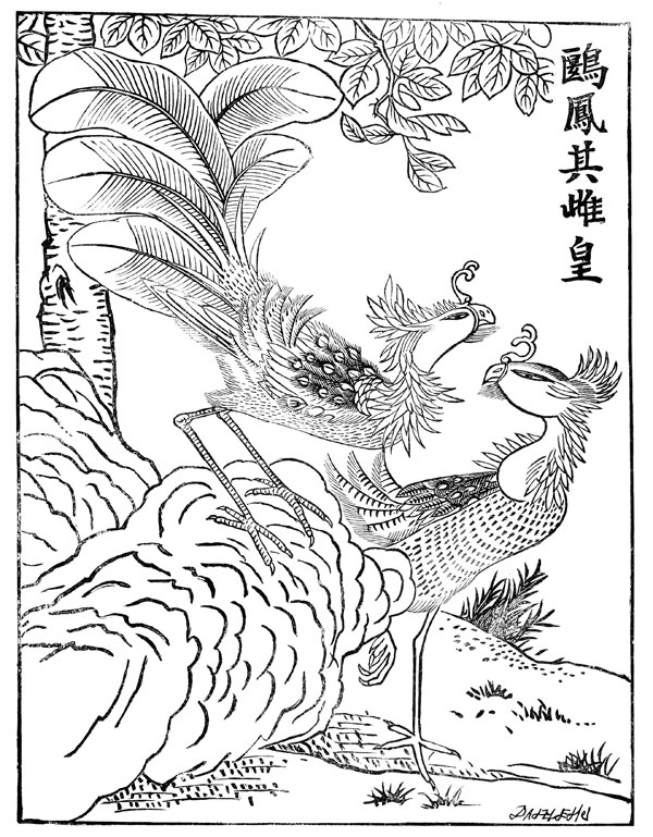 Mythical Creatures - The Fung Hwang - Chinese Phoenix