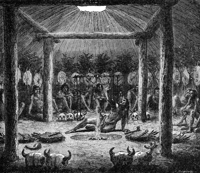 Native Americans - Indian Council Chamber