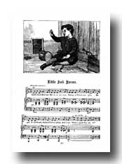 Nursery Rhyme Pictures :: Little Jack Horner