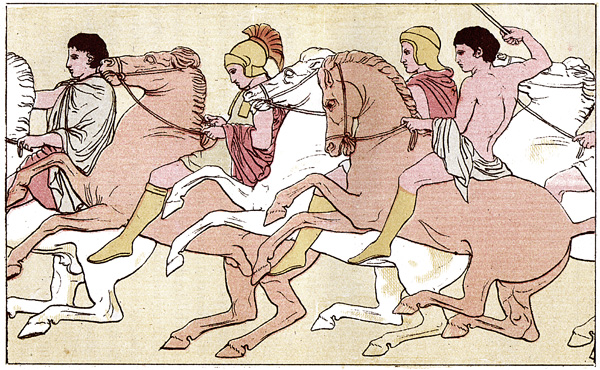 Persian War - The Festival of Athene: Horsemen