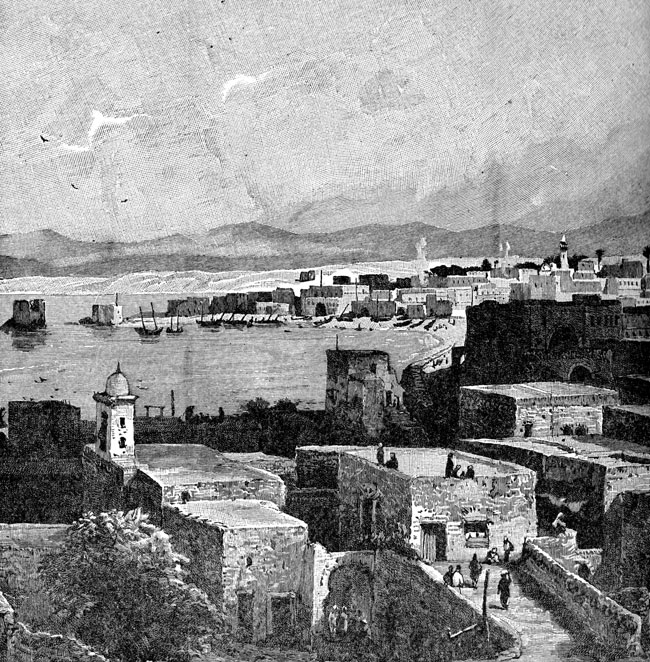 Phoenicia - View of Tyre