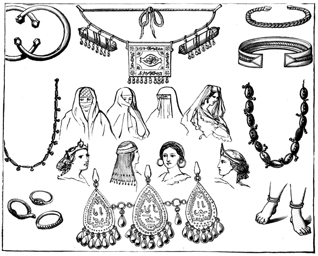 Phoenicia - Ornaments Worn by Women of Phoenicia