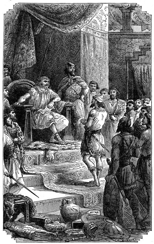 Phoenicians - Phoenician Scene at Court
