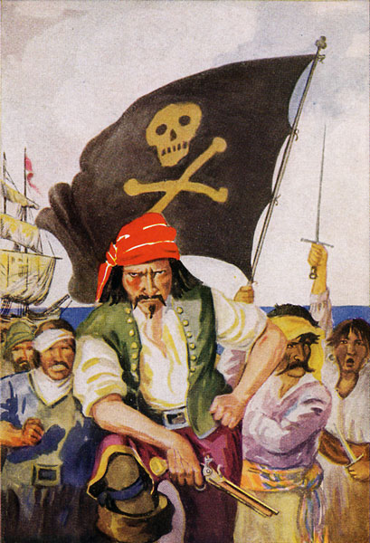 In the Days of the Early Pirates