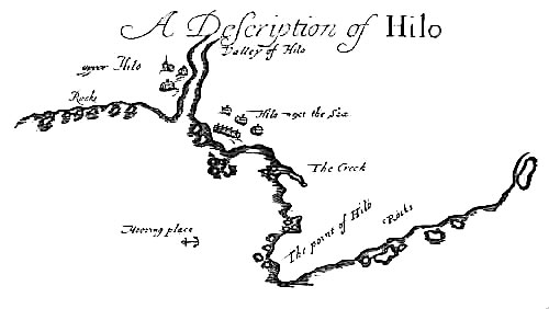 Pirate Treasure Map - Hilo