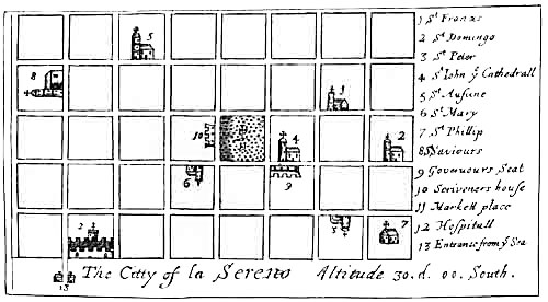 Pirate Treasure Map - City of la Serereo