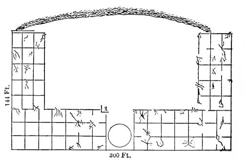 Pueblo Indian Houses - Plans of Hungo Pavie