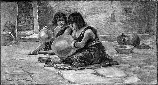 Pueblo Indians - Making Pottery