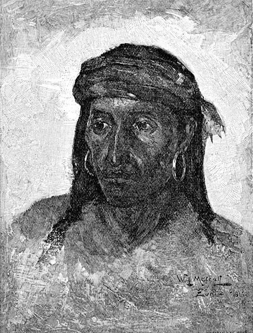 Pueblo Indians - Zuni Chief