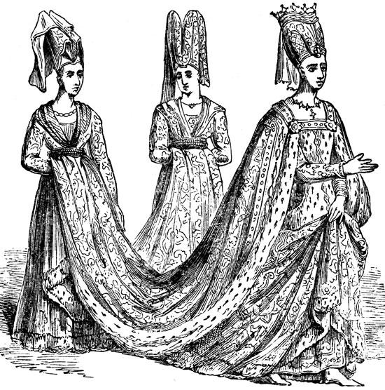 Renaissance dresses image 1