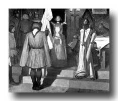 Saint Joan of Arc - Joan Chooses her Standard Bearer