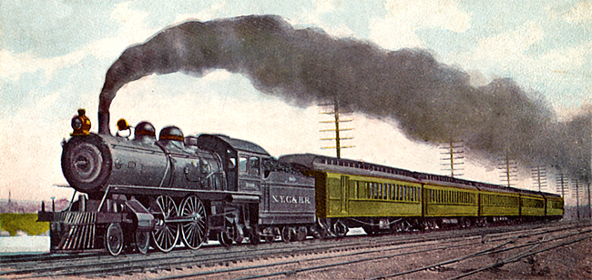 Steam Trains - New York's Empre State Express