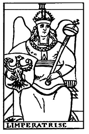 Tarot Cards -  L'Imp�ratrice (The Empress)