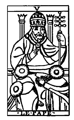 Tarot Cards - Le Pape (The Pope)