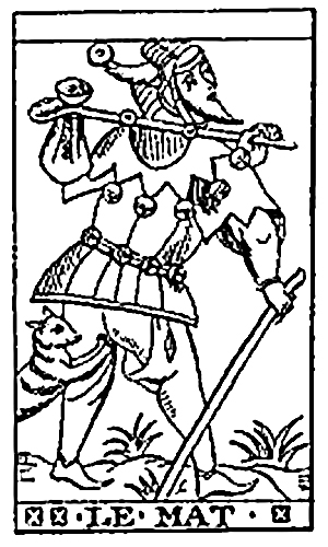 Tarot - Le Mat (The Fool)