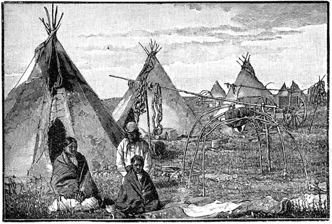 Tipis - Indian Camp