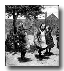 Victorian Clipart :: Girls at Play