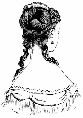 hairstyles clip art. Victorian Hair Styles - Image