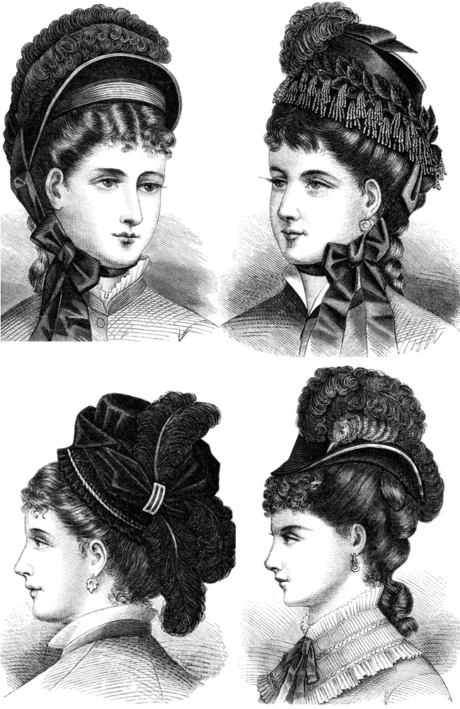 Ladies' Vintage Hats