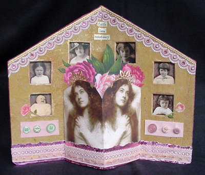 Altered Art Book ~ Love-Faith-Constancy