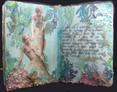 Altered Board Book ~ Sea Dreams
