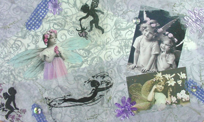 Altered Book Art ~ 18 Wishes