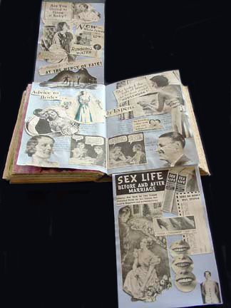 Altered Book Art Ideas ~ Spring