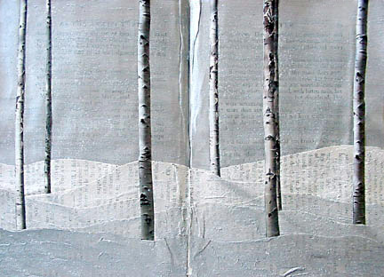 Altered Book Methods ~ Winter