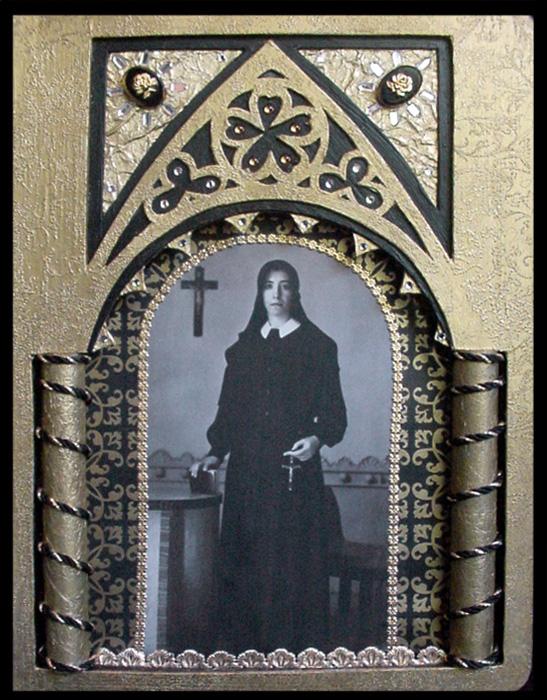 Sr. Maria Angelina's Crucifix ~ Karen's Whimsy