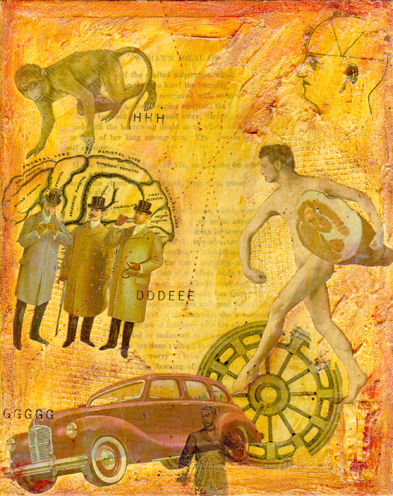 Collage Mixed Media ~ Woman's Ideal #2