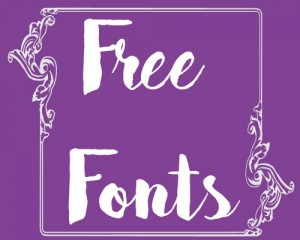 Free Fonts ~ Karen's Whimsy