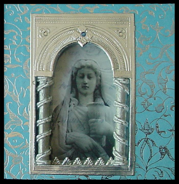 Saint Dymphna's Medal ~ Karen's Whimsy