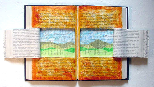 Paper Sculpture ~ Land of My Heart